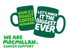 Macmillan Cancer Research Coffee Morning on Reading Timetables